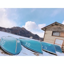 2018/02/12 榛名湖 寒い。風が辛い。