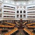 2018/08/20 #メルボルン #ビクトリア州立図書館 #死ぬまでに1度は行きたい美しい図書館
