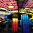 美麗島駅 世界で二番目に綺麗な駅に選ばれたこともあるとか #美麗島駅#高雄#台湾