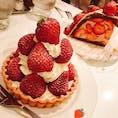 #フルーツパーラー #フルーツ #ケーキ #ケーキ屋 #ランチ #カフェ #東京 #いちご   フルーツを沢山使ったケーキです🍰☆  店↓ #果実園東京店