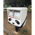 パンダポスト 上野動物園入口に向かう途中の右手にパンダのデザインがされたポストがあります。黒い耳に白いしっぽもついてかわいいです。このポストから手紙を投函するとパンダや西郷隆盛像が図案化されている上野郵便局の風景印が押印されて届きます。 #ポスト #変わりポスト #パンダ #東京都 #台東区 #上野 #上野動物園 #風景印 #郵便局