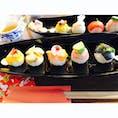 #手毬寿司#愛知#犬山#ランチ   お米とこんにゃく米のお寿司で一つ一つ自分で具材を選べます! ヘルシーで美味しかったです(^^)   店: 伊勢屋 砂おろし