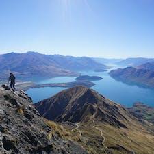 絶景! ニュージーランド 簡単に登れるRoys peak