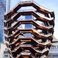 New York / Midtown Manhattan Hudson Yards  ニューヨークの新名所「ハドソンヤード」にある独創的な設計の建物「ヴェッセル」。2500もの階段と、踊り場のみで構成されています。入場は無料ですが、Webサイトから時間指定の予約が必要になりますのでご注意を!  #hudsonyards #vesselnyc #newyorkcity #ニューヨーク旅行 #ilovenewyork