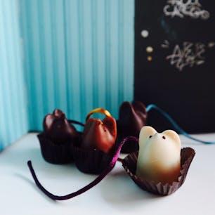 New York / SOHO L.A. Burdick  SOHOにある「L.A.バーディック」で見つけた、NY生まれのチョコレート。ねずみの形がとってもキュート!  #burdickchocolate  #newyorkcity #ニューヨーク旅行 #ilovenewyork