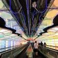 近未来感がすごいシカゴのオヘヤ国際空港
