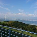 淡路からの鳴門大橋