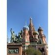 ロシア モスクワ - ワシリー寺院