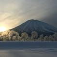 北海道 倶知安町の羊蹄山