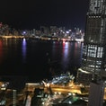 香港 九龍エリアのホテルからの夜景