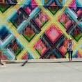 旅立つ直前で後輩が教えてくれた、フオドジェニックスポットのカカアコ。 そこかしこにアートがあり、散策が楽しい♪