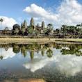 旅の思い出。弾丸カンボジア。 王道はアンコールワットですが、他のアンコール群も空いてて穴場です。