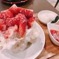 #愛知#岡崎#かき氷#カフェ  店: #六華亭 #リッカテイ  かき氷とドリンクがおしゃれな店です。 雰囲気も◎