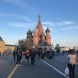 モスクワ🇷🇺赤の広場 たぶん世界で一番有名な聖堂の一つ 目の前にしたときは感動でした✨