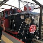 撮影したのは随分前ですが、 嵯峨野のトロッコ列車🚃 近くで見ると迫力があった‼︎