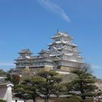 桜が満開のときに行った姫路城🏯
