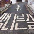 #北村韓屋村 #ソウル #韓国 2016年12月  ハングル文字🇰🇷ってすごく可愛い😊💕 ↑に×が付いているから「止まれ」とか「直進禁止」 みたいな意味なのかなあ〜🤔🤔
