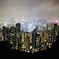 香港の夜景🇭🇰
