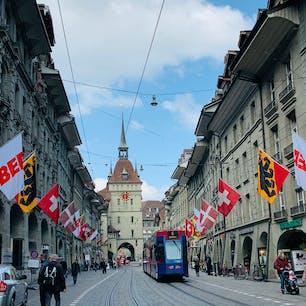Bern, Switzerland  ベルンの世界遺産の街並み