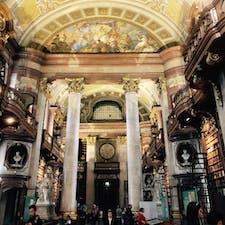 #ウィーン #国立図書館 #世界一美しい図書館