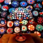 #箱根ガラスの森美術館 #箱根 #神奈川 2017年2月  #ヴェネツィアガラス の花柄と配色が私のツボすぎて イタリア旅行🇮🇹前だって言うのに、フライングして 買いそうになるのを堪えるのが大変だった...😭😭笑