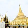 ヤンゴンのシンボル!シュエダゴン・パゴダ