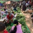 ヤンゴンからバガン遺跡の街ニャウンウーへ移動✈️ 東南アジアらしい活気あるマーケットを散策するのも楽しいです♬
