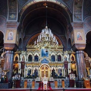 Uspenski Katedrali ウスペンスキー大聖堂 Helsinki ヘルシンキ Finland フィンランド 歴史を感じるフィンランド正教会の趣きある教会