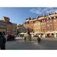 ワルシャワ の旧市街広場