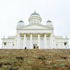 Helsingin tuomiokirkko ヘルシンキ大聖堂Helsinki ヘルシンキ Finland フィンランド