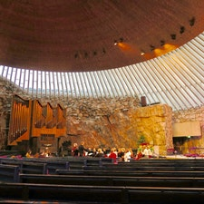 Lutherinkatu テンペリアウキオ教会  Helsinki フィンランド Finland フィンランド