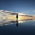 ウユニ塩湖のサンセット🌅