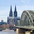 ホーエンツォレルン橋とケルン大聖堂🇩🇪