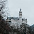 冬のノイシュバンシュタイン城🇩🇪