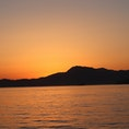 2019.5.22 夕呉クルーズ 18:45出航 船上から見た夕暮