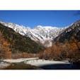秋の上高地🏔 写真以上の感動的な景色が皆様を お迎えいたします😇