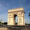 パリ エトワール凱旋門