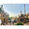 #Spain #スペイン #Barcelona #バルセロナ #ParkGuell #グエル公園