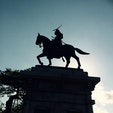 伊達政宗公 銅像♬ 仙台城跡にあります。