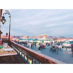@Marrakech マラケシュ / Morocco モロッコ ジャマ・エル・フナ広場