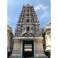 スリ・マハ・マリアマン寺院 チャイナタウンにあるヒンドゥー教のお寺