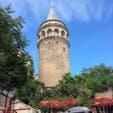 イスタンブールの街を一望出来るガラタ塔