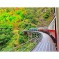📍キュランダ鉄道  #オーストラリア #キュランダ #世界の車窓から