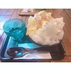愛知県岡崎市にある「カフェ柚子木」 かき氷とても絶品🍧  #岡崎 #カフェ柚子木 #かき氷