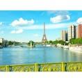 2019.6.6 パリ ホテルに向かう途中、セーヌ川からのエッフェル塔。  #paris#パリ#エッフェル塔
