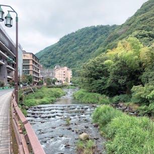 2019.6.23 箱根温泉街 くもりなのが😵