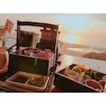 #愛知#ランチ#ディナー#絶景#海  海を眺めながらランチやディナーがたべれます♪ 夕方にいきましたが最高でした(^^)   店↓ #納屋