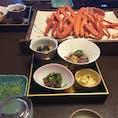 城崎温泉 いちだや さんの夕食です♬