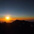 hawaii ハワイ島 big island ビックアイランド マウナケア山頂 サンセット 雲海