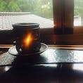黒川温泉 御客屋さん 、お部屋に入ったら、とても良い香りがしました。 香炉でお茶の葉を焚いていたようです。  宿に到着する時間を、予め知らせていたので、逆算して香炉を用意していたようです。こういう心遣いが嬉しい!